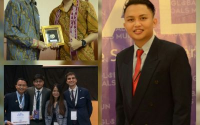 Panji Bondan Koordinator Delegasi Indonesia Dalam GGMUN di Thailand